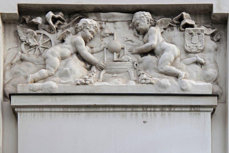 Gångtunnelstation - Wien - Österrike royaltyfri foto