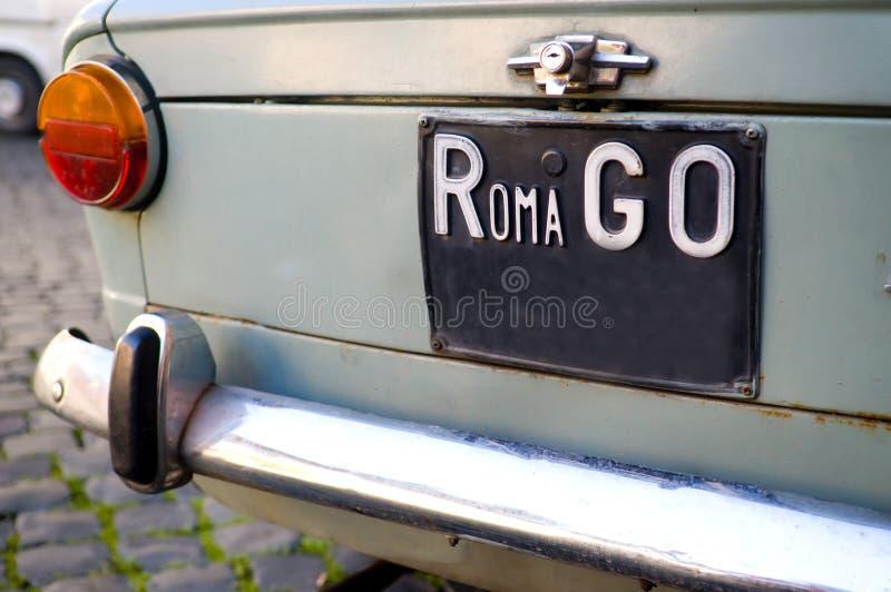 går roma arkivbild