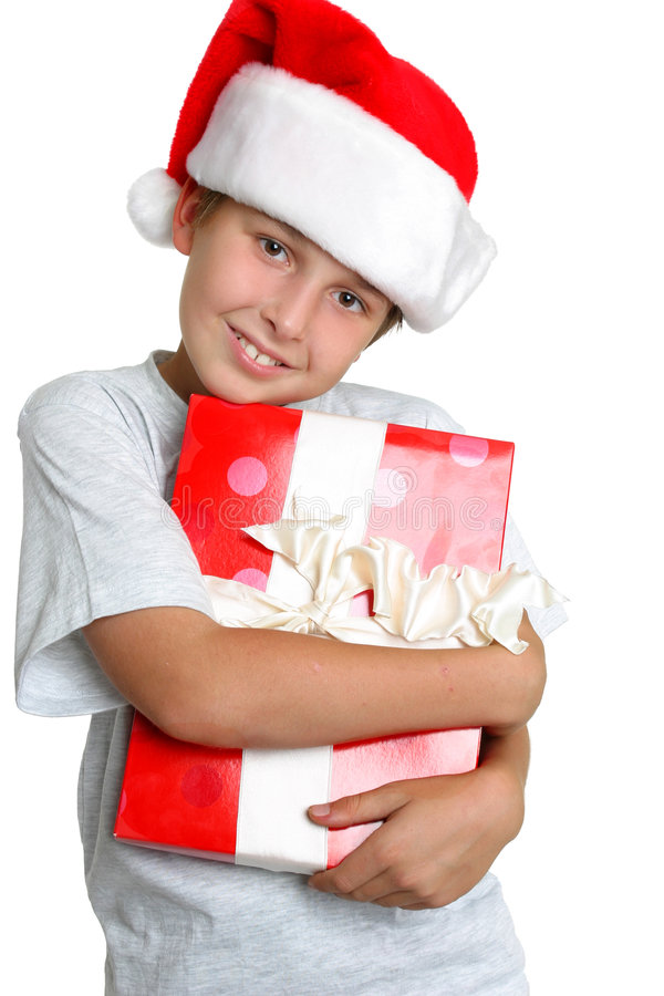 gåvaförälskelsetid arkivfoto