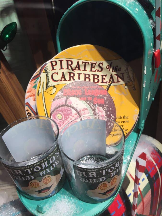 Gåvor på shoppar i Disney World, Orlando, Florida arkivbilder