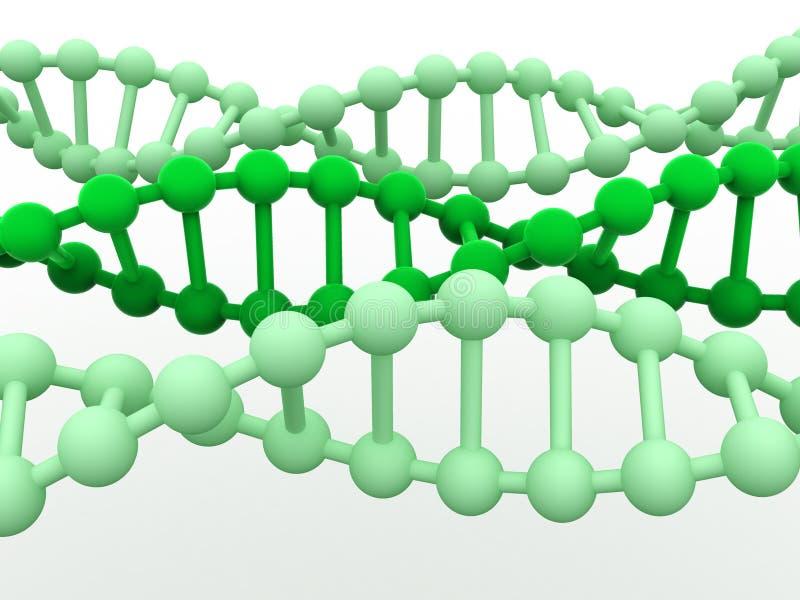 Gène en ADN. illustration stock