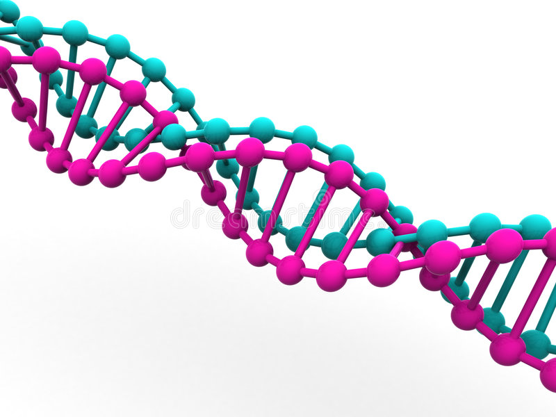 Gène en ADN. illustration de vecteur