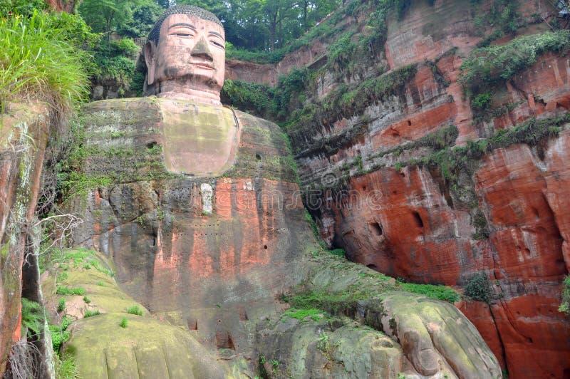 Géant Bouddha de Leshan photo stock