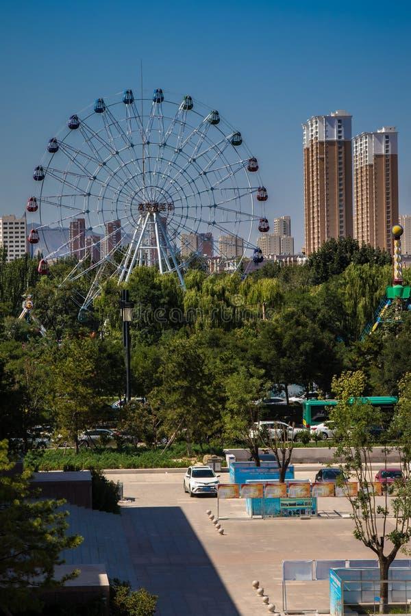 Géant Ferris Wheel du ` s de Datong photos libres de droits