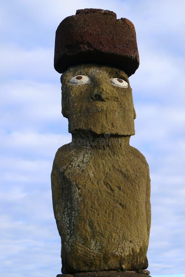 Géant Moai d'île de Pâques photos stock