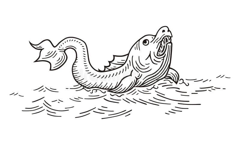 Géant Ruff illustration de vecteur
