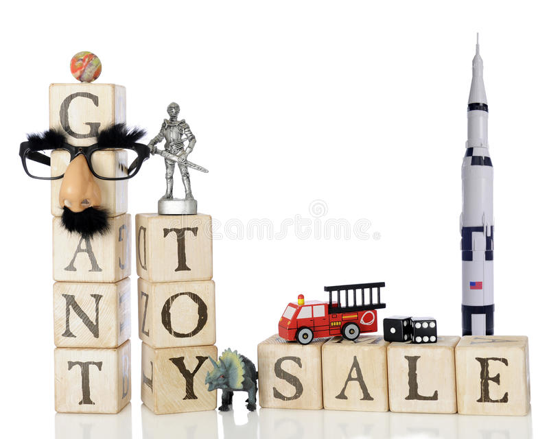 Géant Toy Sale image stock