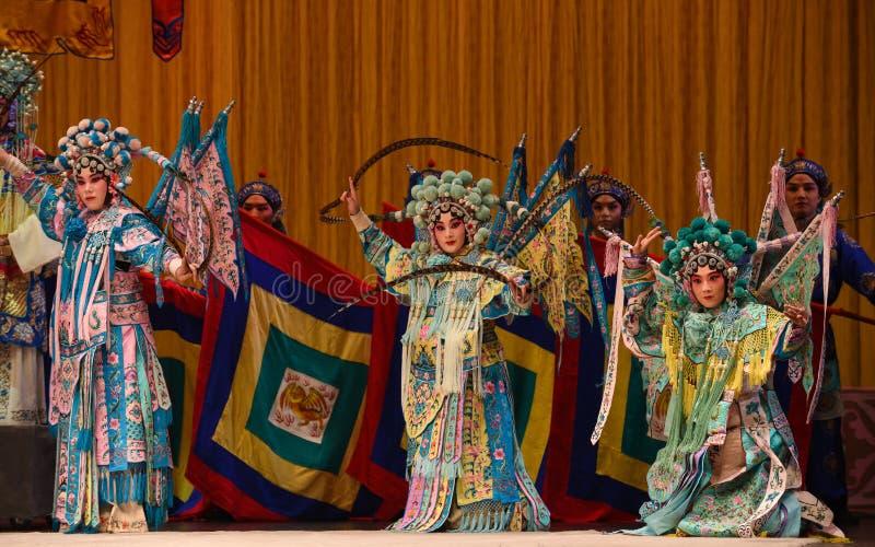 """Général de femmes des généraux de femmes de Pékin Opera"""" de famille de Yang de  de € de Yang Familyâ photographie stock"""