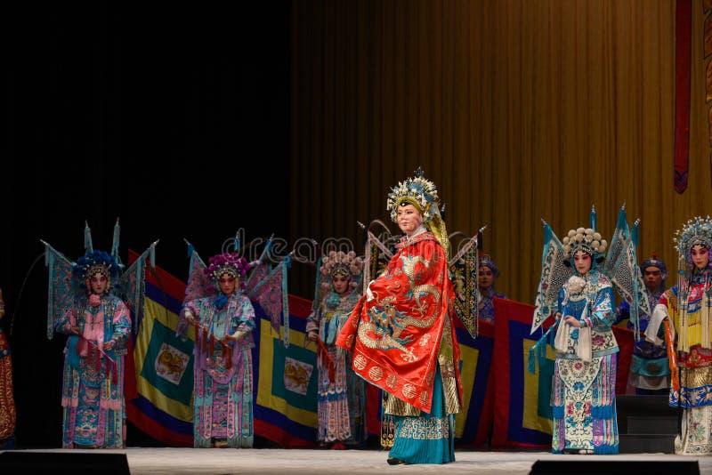 """Général de femmes des généraux de femmes de Pékin Opera"""" de famille de Yang de  de € de Yang Familyâ images stock"""