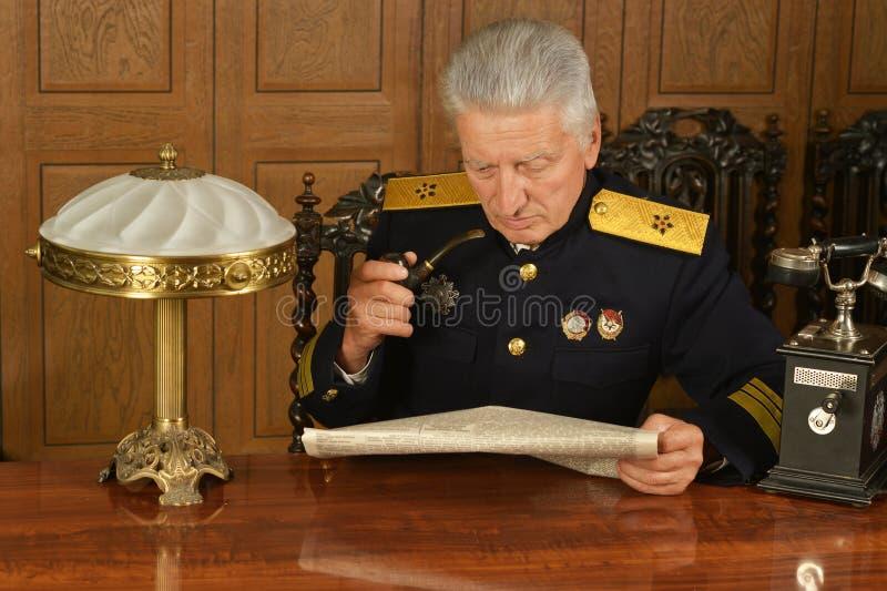 Général mûr militaire photos stock
