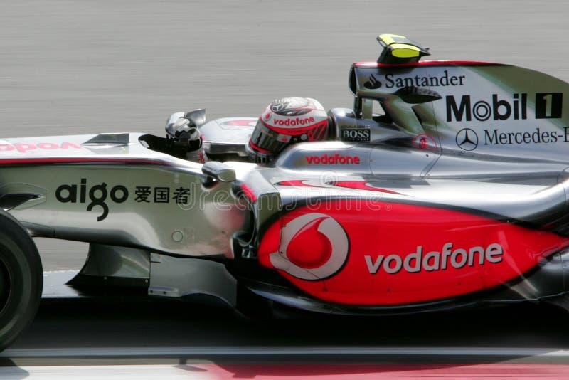 Généraliste du Malaysian F1 - Heikki Kovalainen (McLaren) images stock