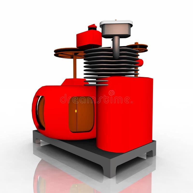 Générateur électrique illustration de vecteur
