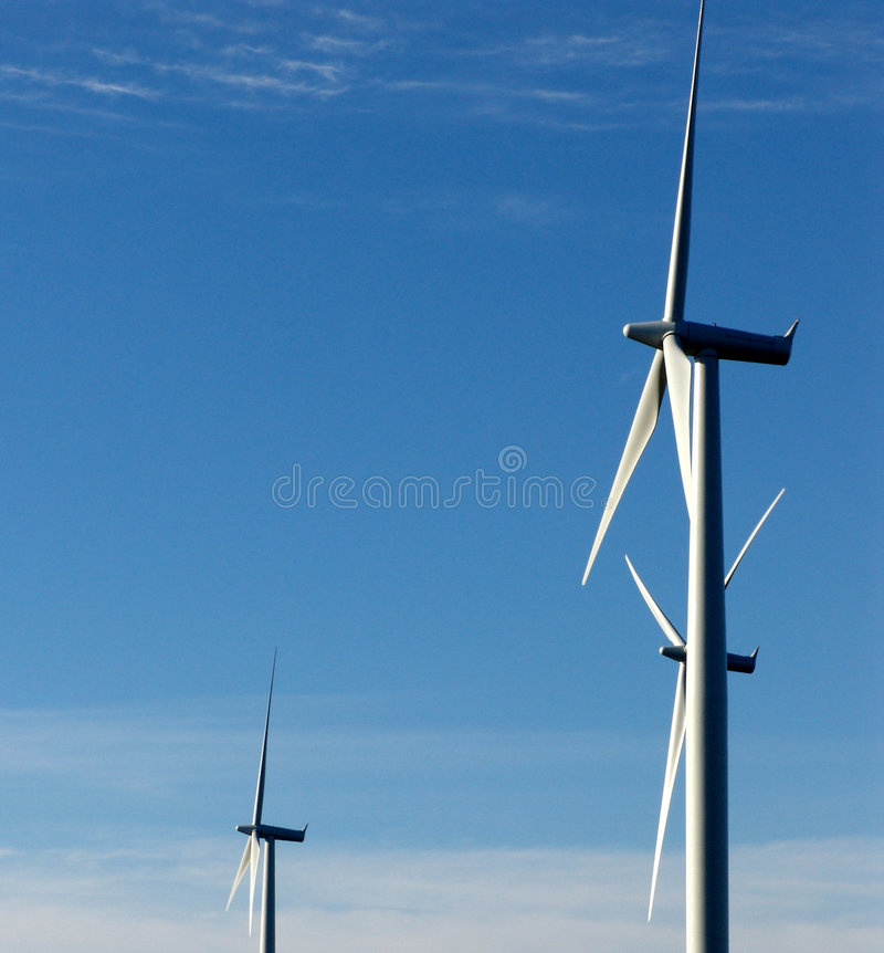Générateur éolien photos stock