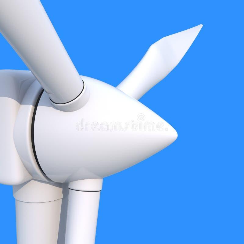 Générateur d'énergie éolienne illustration libre de droits