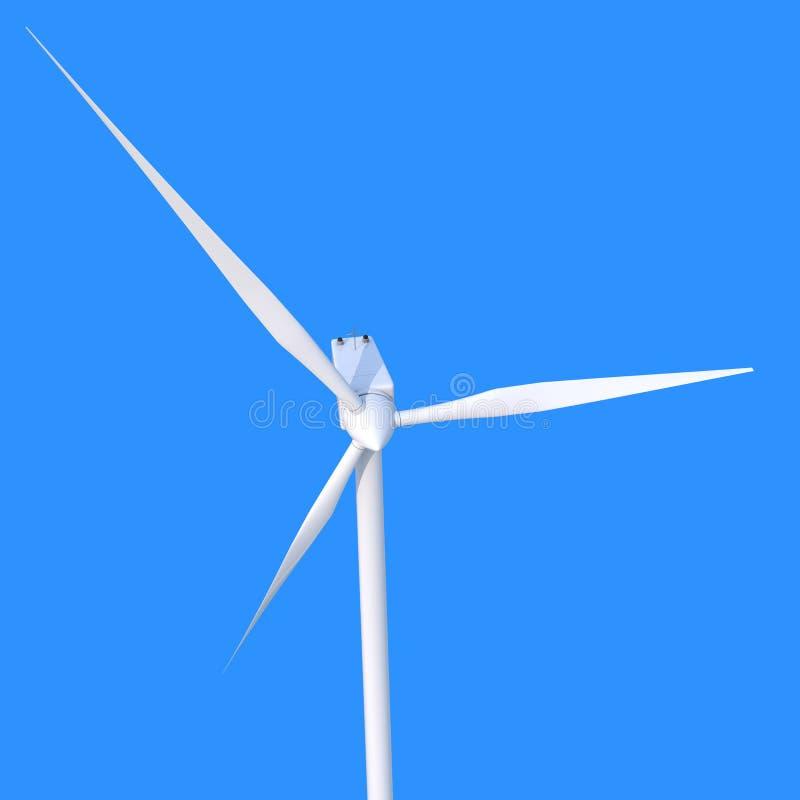 Générateur d'énergie éolienne illustration de vecteur