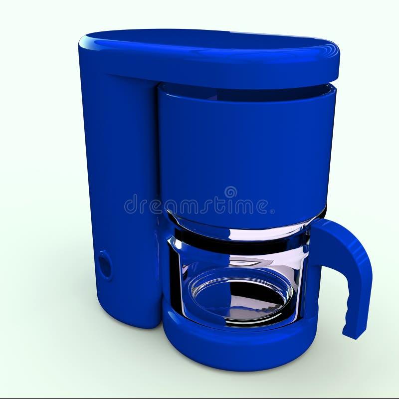 Générateur de café illustration stock