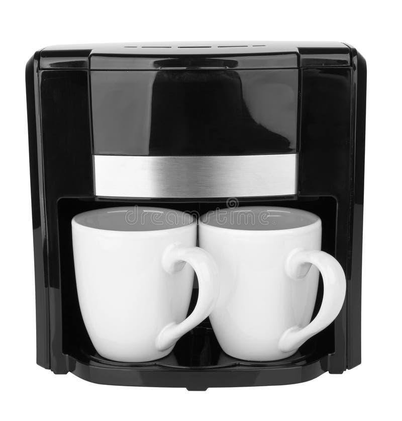 Générateur de café d'isolement photos stock