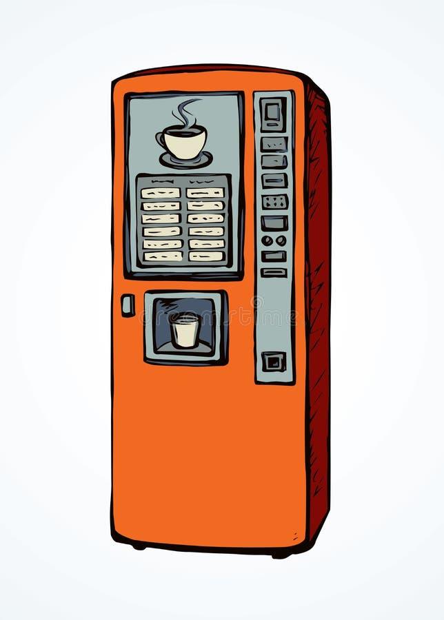 Générateur de café Retrait de vecteur illustration stock