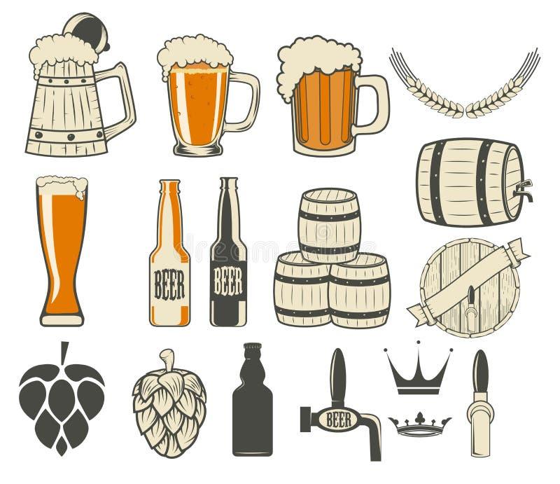 Générateur de label de bière illustration stock