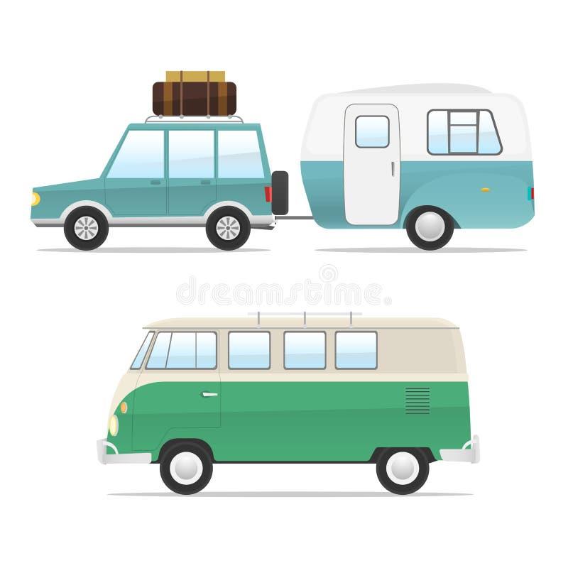 Générateur de scène - voyage illustration libre de droits