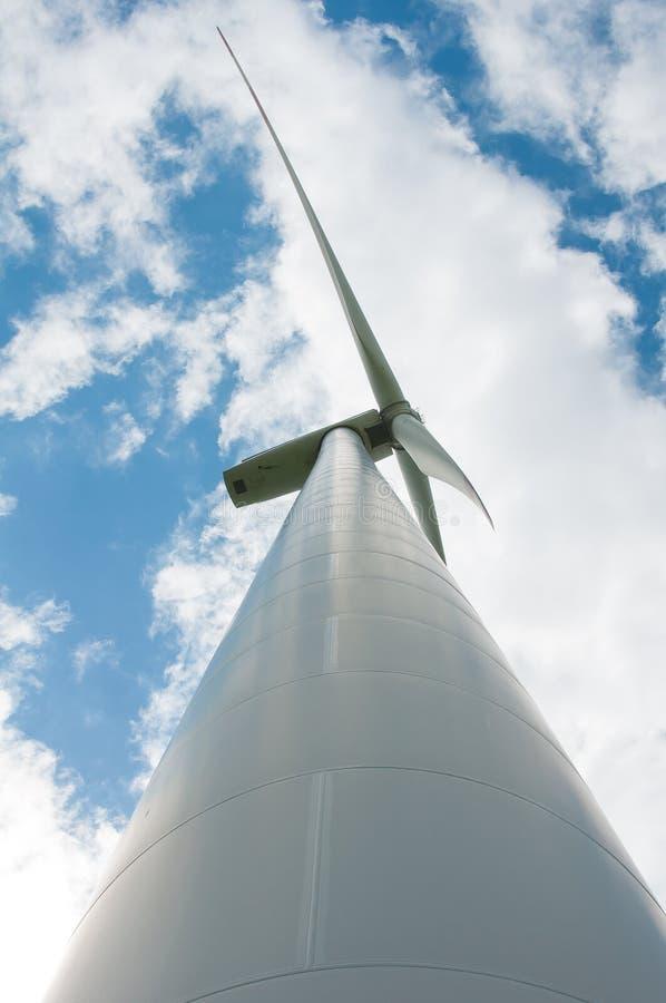 Générateur de vent, énergie verte photographie stock