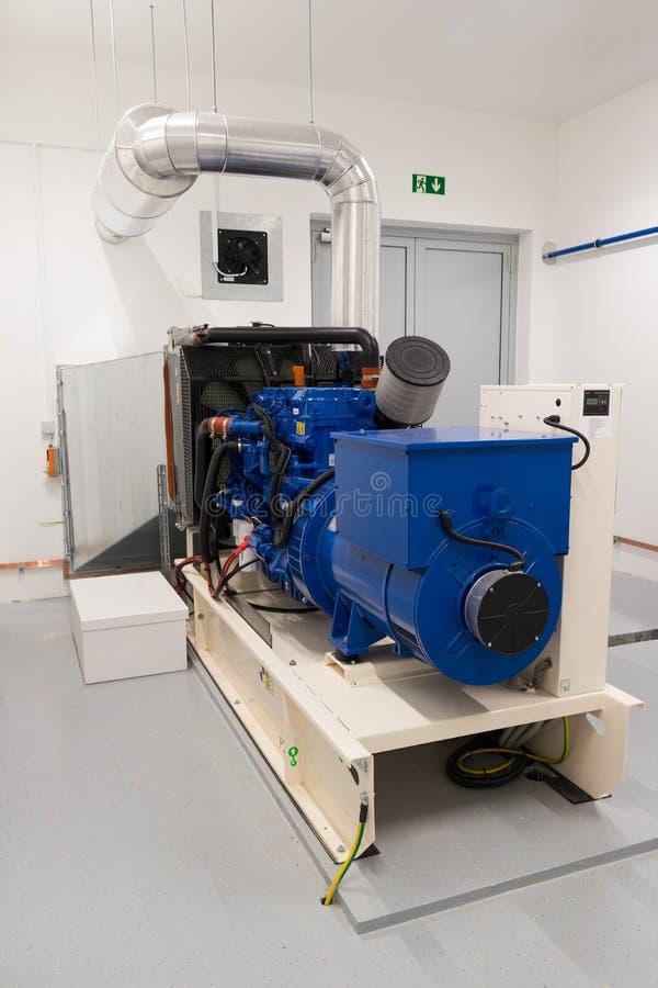 Générateur diesel de réserve photos stock