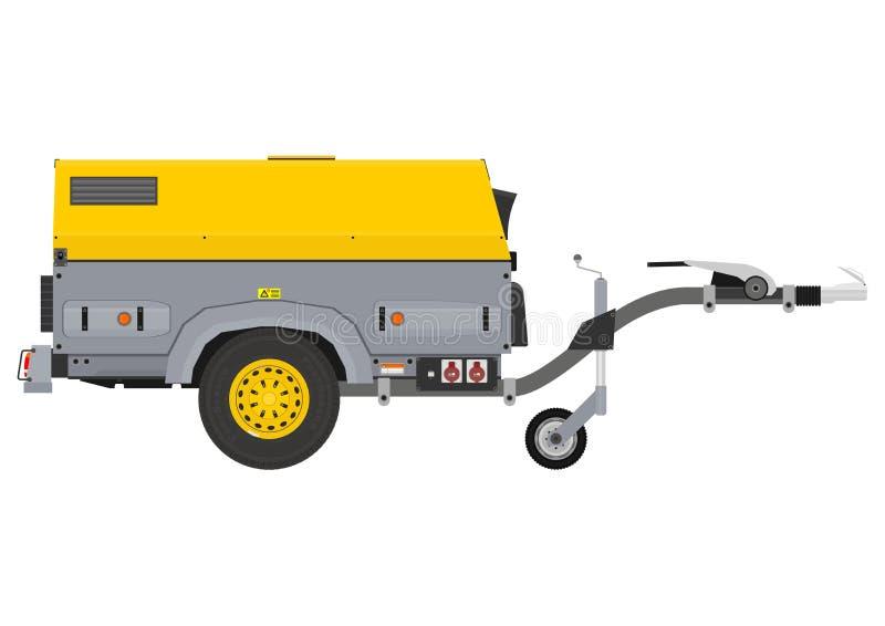 Générateur mobile illustration de vecteur