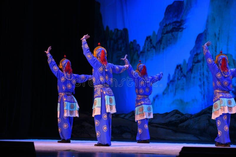 """Généraux de femmes de Pékin Opera"""" de pelotons d'Econ de  de € de Yang Familyâ photographie stock"""