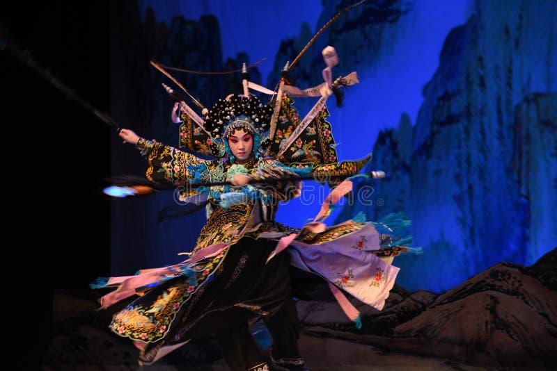 """Généraux de femmes de Yang Qiniang- Pékin Opera"""" de  de € de Yang Familyâ photo libre de droits"""