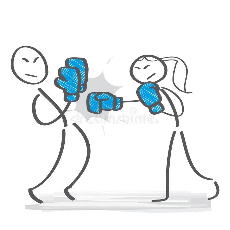 Género y competencia libre illustration