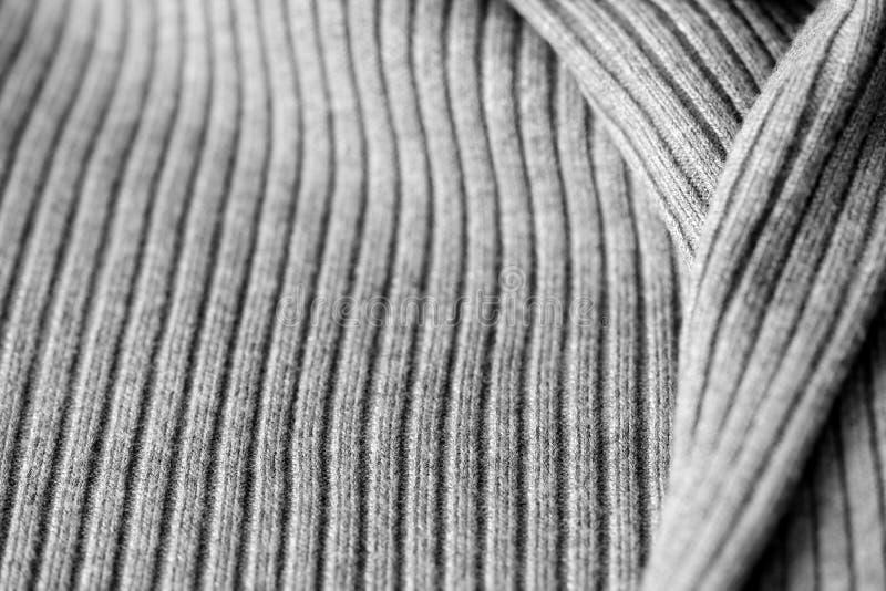 Géneros de punto grises como una textura y fondo fotos de archivo