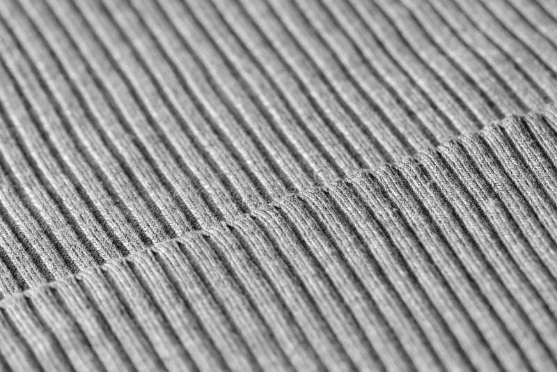 Géneros de punto grises como una textura y fondo fotografía de archivo libre de regalías