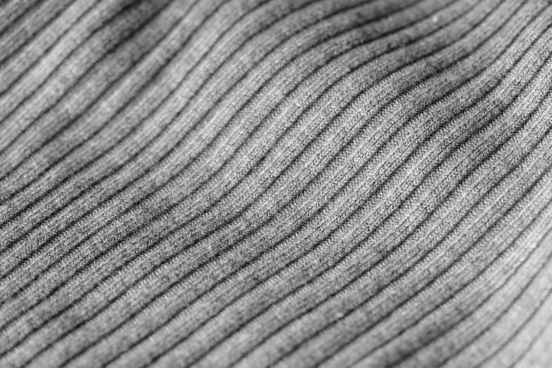 Géneros de punto grises como una textura y fondo imagen de archivo