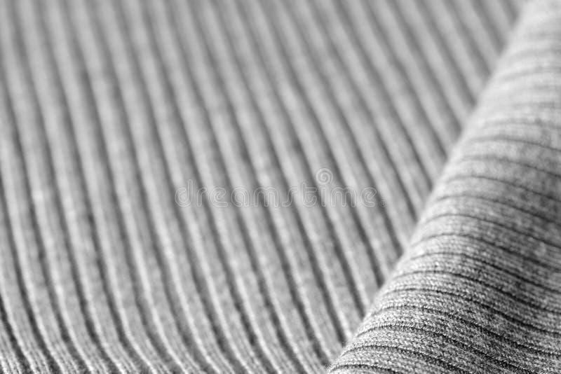 Géneros de punto grises como una textura y fondo imagenes de archivo