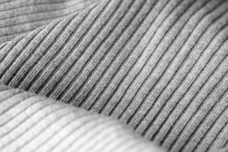 Géneros de punto grises como una textura y fondo foto de archivo libre de regalías