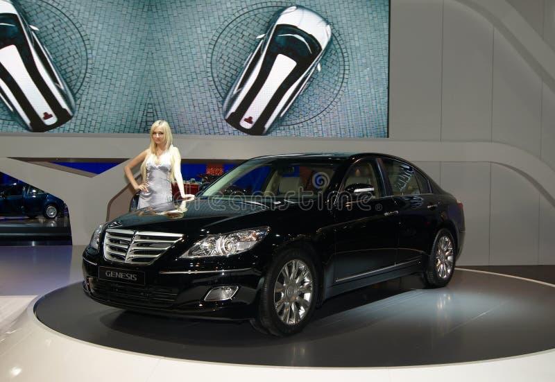 Génesis de Hyundai imágenes de archivo libres de regalías