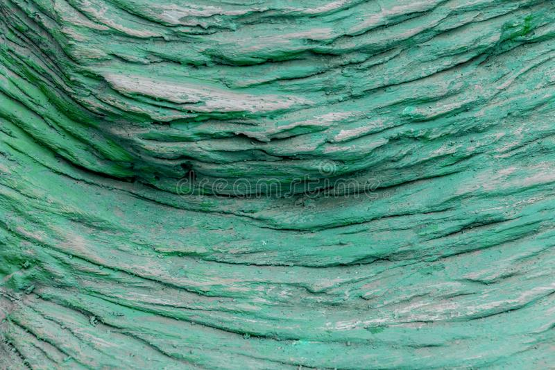 Géologie colorée de texture de roche verte pour la texture et la conception de fond images stock