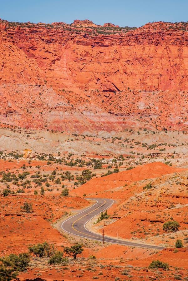 Géologie de récif de capitol photo libre de droits