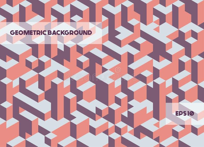 Géométrique abstrait illustration stock