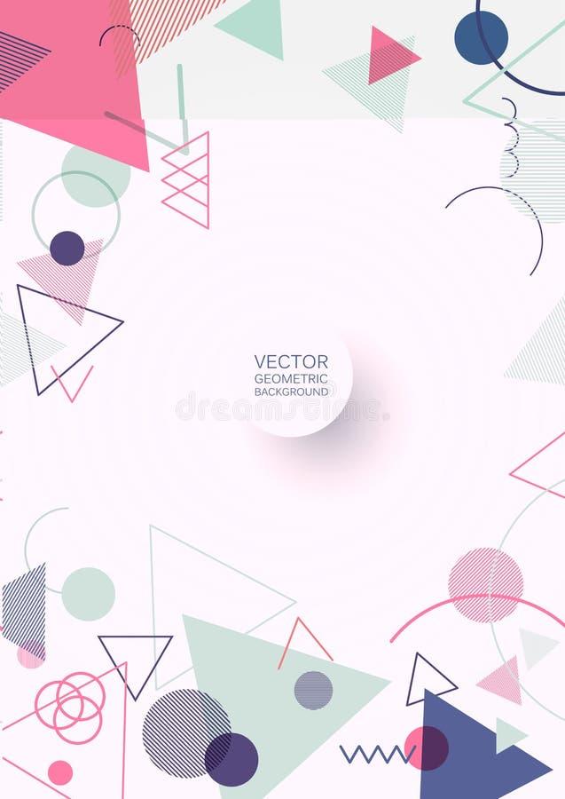 Géométrique abstrait illustration libre de droits