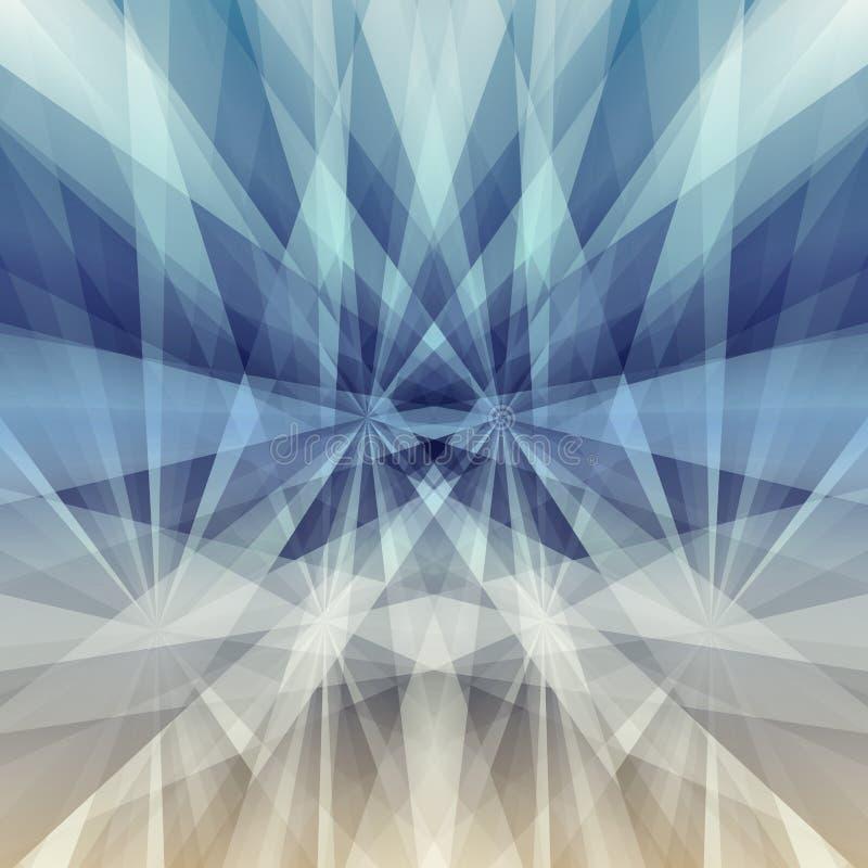 Géométrique abstrait Illustration de vecteur illustration stock