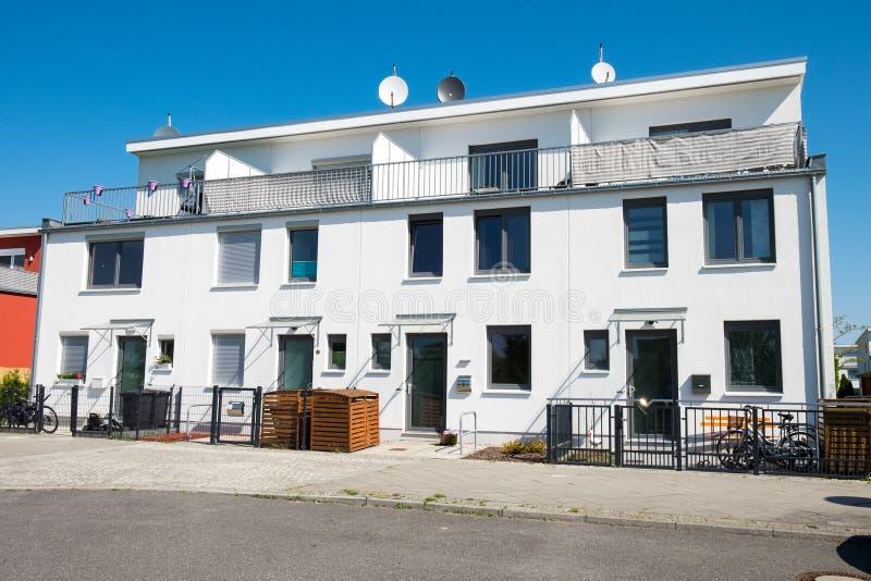 Gêmeo-casa moderna em Berlim foto de stock royalty free