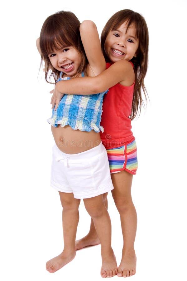 Gêmeos adoráveis. imagem de stock royalty free
