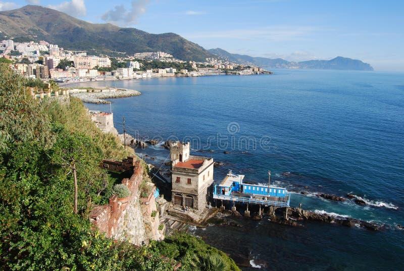 Gênes, Ligurie, Italie images libres de droits