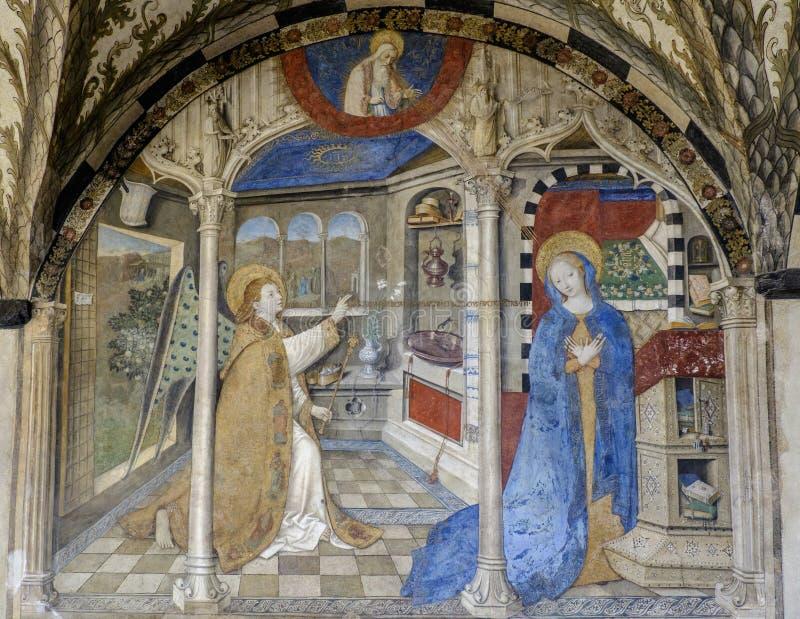 Gênes, Ligurie, Italie, l'Europe, église de St Mary du château image stock