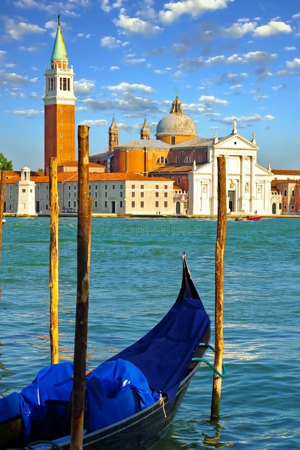 Góndola en Venecia, Italia fotografía de archivo libre de regalías