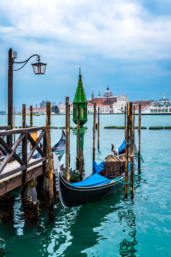 Góndola, San Marco, Venecia, Italia foto de archivo