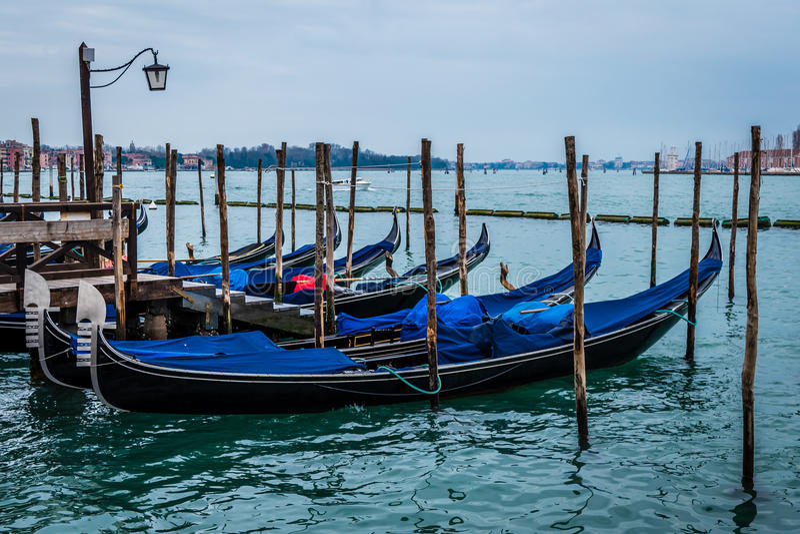 Góndola, San Marco, Venecia, Italia imagen de archivo libre de regalías