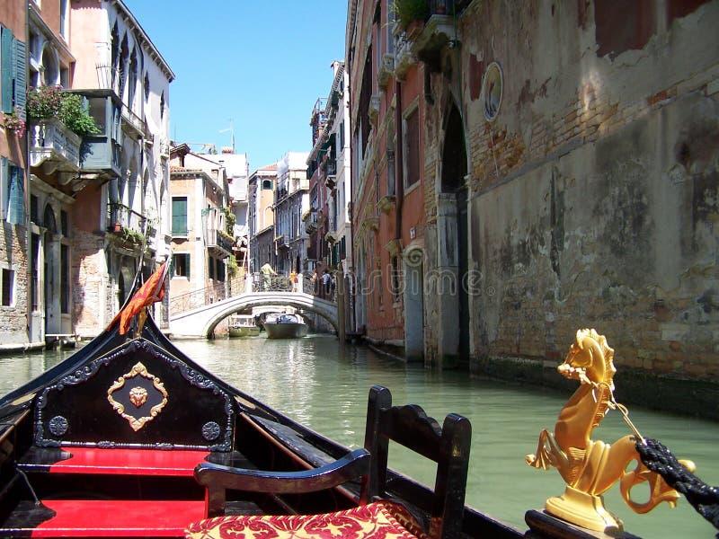Góndola, Venecia - Italia fotos de archivo