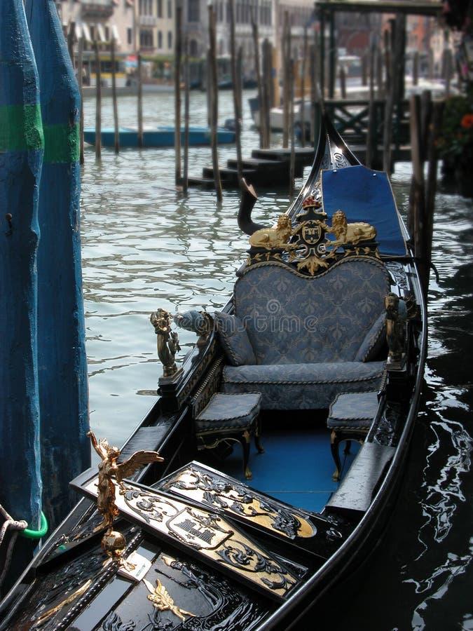 Góndola veneciana fotos de archivo